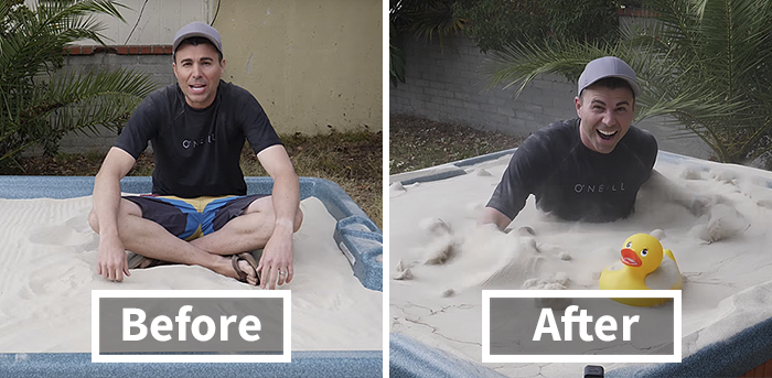 Ex NASA Engineer Makes Everyone Freak Out When He Turns Sand Into 'Liquid Soup', And Here's How He Did It