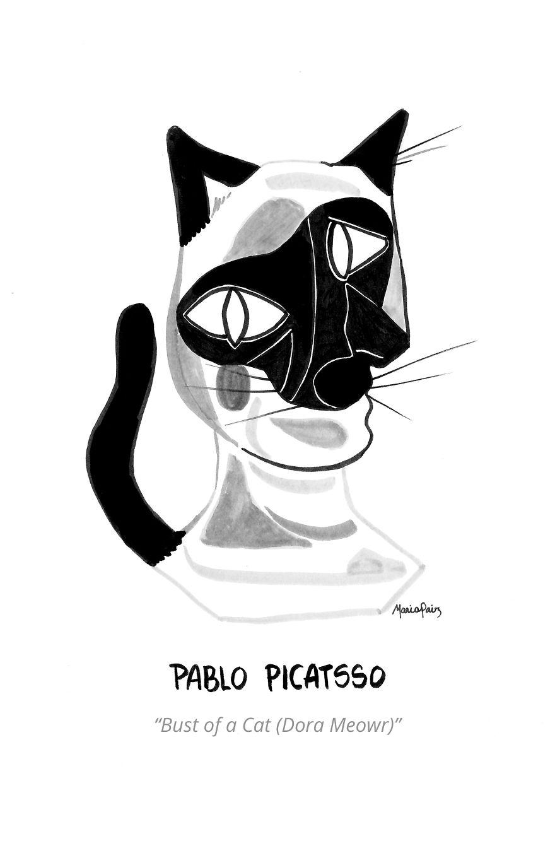 Pablo Picatsso's Bust Of A Cat (Dora Meowr)