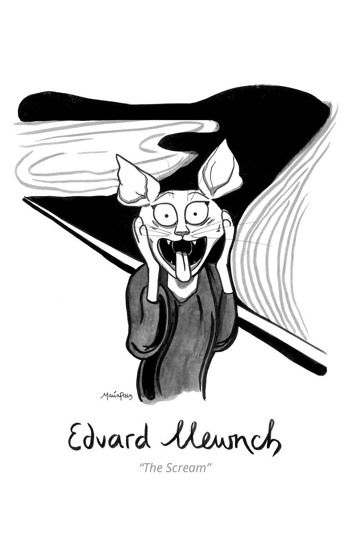 Edvard Mewnch's The Scream