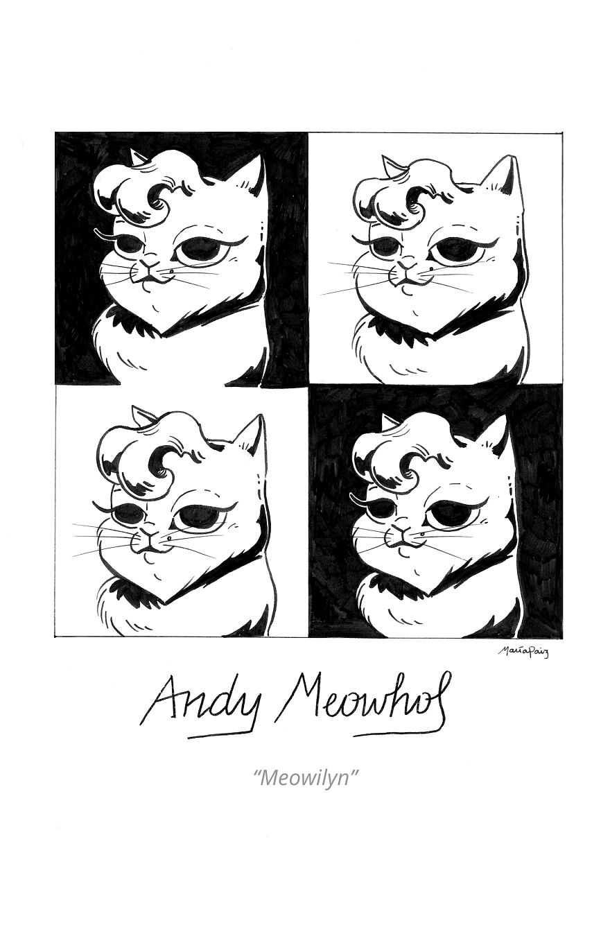 Andy Mewhol's Meowilyn