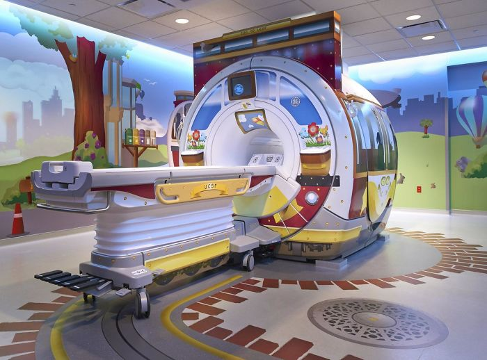 Industrial Designer Helps Young Hospital Patients Feel Less Afraid By Turning Medical Scanners Into Adventures