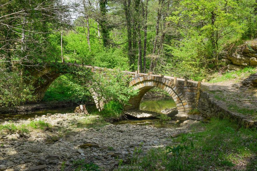 Deris Bridge, Kozani. Built Date Unkown, Partially Rebuilt 2006