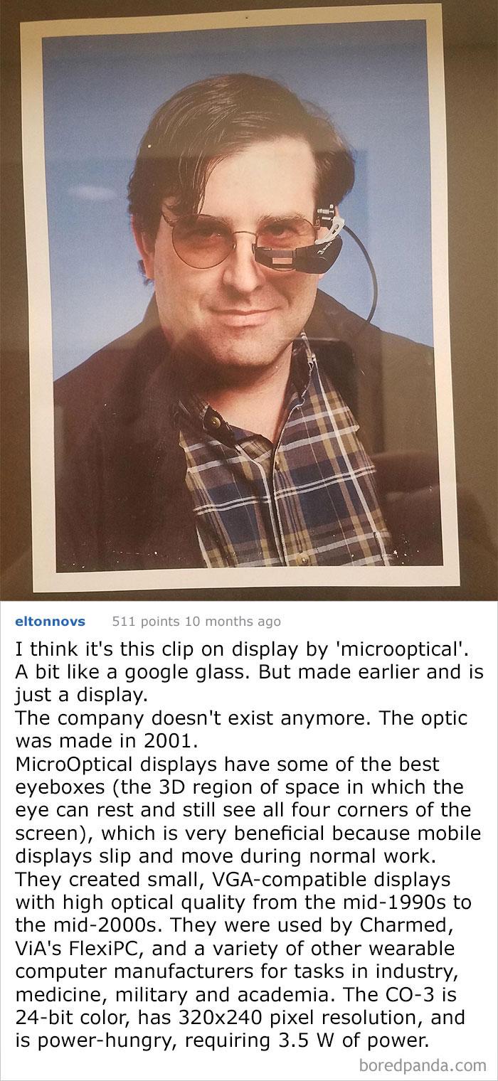 What Is This Professor Wearing? I Believe He Is In Computer Engineering