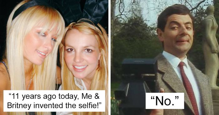Paris Hilton Just Said She And Britney Invented The Selfie, And Here's 24  Best Reactions From Twitter | Bored Panda