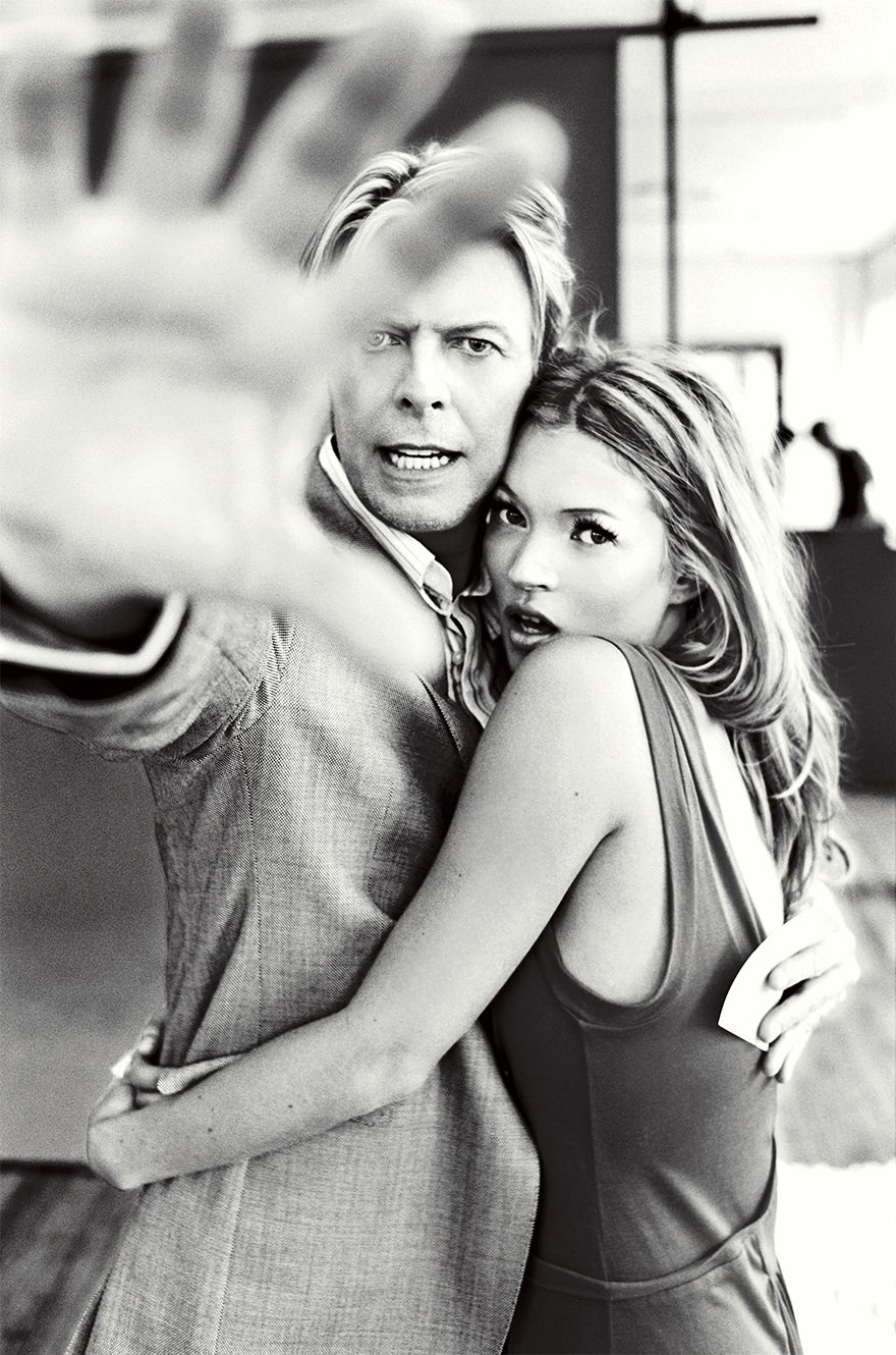 Kate Moss And David Bowie, 2003