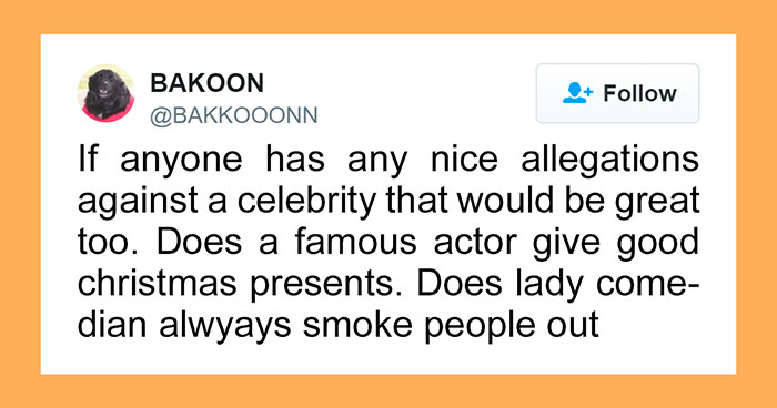 Somebody On Twitter Asked For Positive Stories About Celebrities And It Will Restore Your Faith In Hollywood