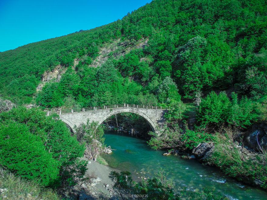 Kagelia Bridge, Grevena. Built Around 1700
