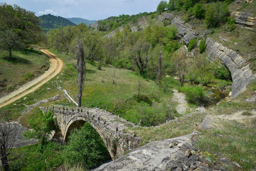 Svoliani Bridge, Kozani. Built 1851