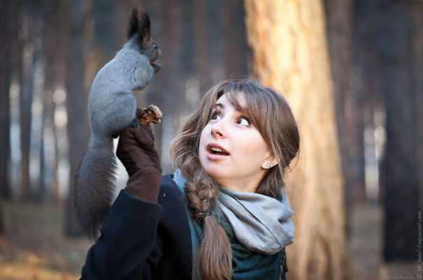 Me Right When An Alien Squirrel Shows Me His Nuts