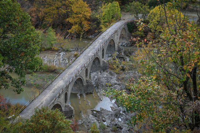 Spanou Bridge, Grevena. Built 1846