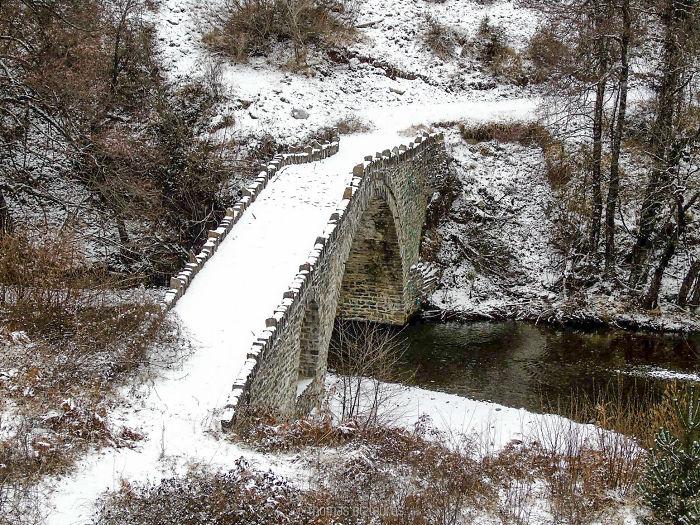 Stabekis Bridge, Grevena. Built 1850