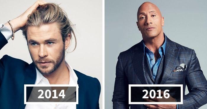 Los hombres más atractivos entre 1990 y 2017 según las portadas de la revista People