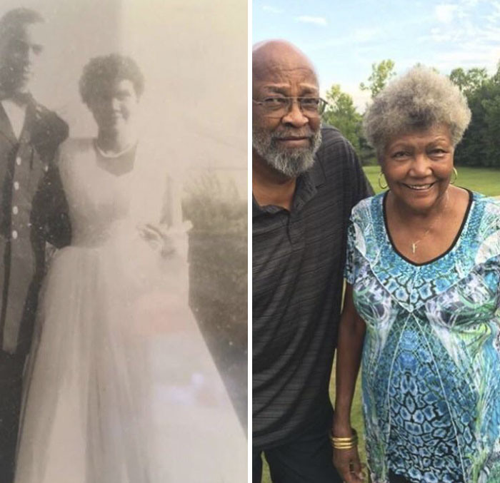 My Grandparents 58 Years Ago And Today
