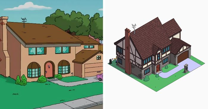 Amazing This Is What Would Happen If Homer Simpson Hired Architects To Build His  House