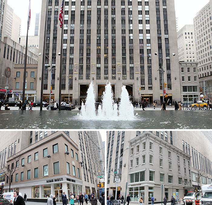 The Entire Rockefeller Plaza Complex Was Moved, Due To These Two Buildings Whose Owners Refused To Sell
