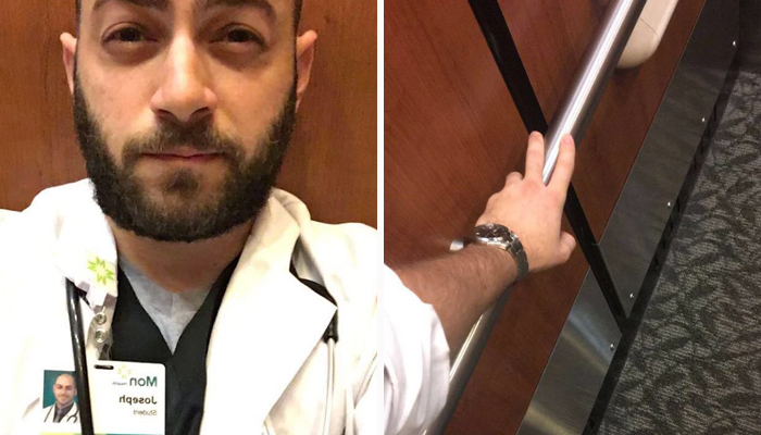 He Got Stuck In Elevator Before His Very First Surgery, And Proved Doctors Have The Best Sense Of Humor