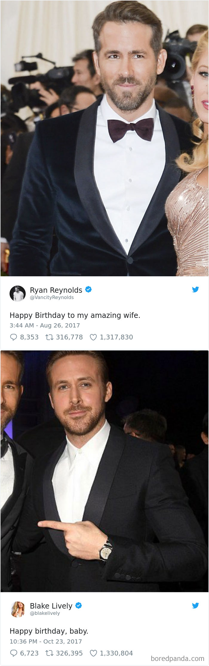 Ryan Reynolds Congratulated His Wife On Her 30th Birthday In A Way That Asked For Revenge And On The Actor's 41st Birthday, Blake Lively Came Back Swinging