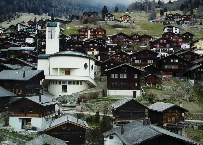 Garin Albinen na kasar Switzerland inda ake biyan mutane kudi in sum koma da zama-boredpanda