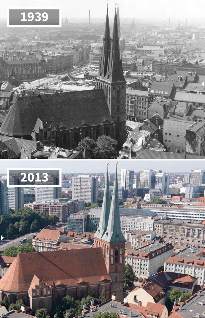 St. Nicholas' Church, Berlin, Germany, 1939 - 2013