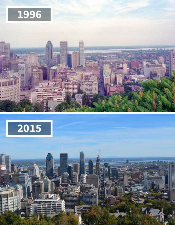 Cityscape, Montreal, Canada, 1996 - 2015