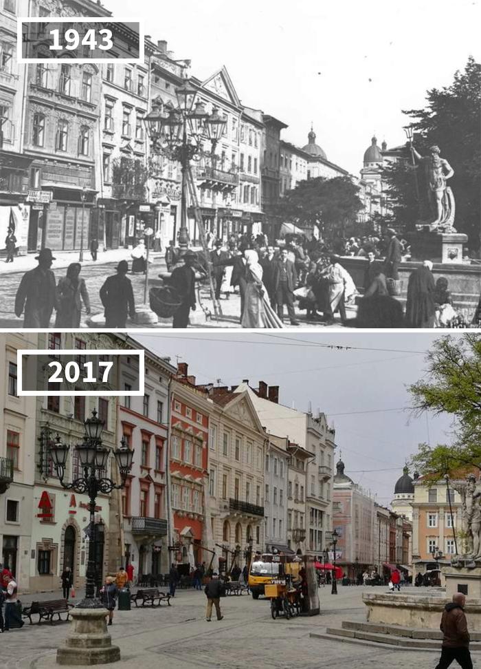 L'viv, Ukraine, 1943 – 2017