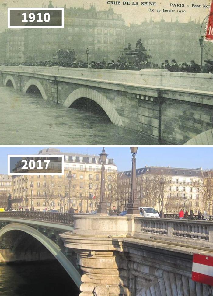 Pont Notre-Dame, France, 1910 - 2017