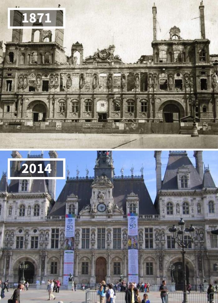 Hôtel De Ville, Frankreich, 1871 – 2014