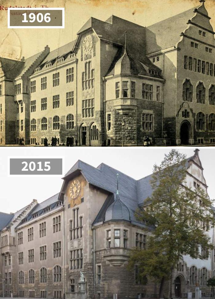 Rudolstadt Marktstraße 54 Amtsgericht, Deutschland, 1906 – 2015