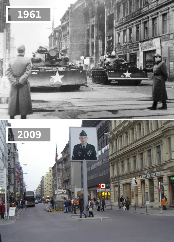 Checkpoint Charlie, Germany, 1961 - 2009