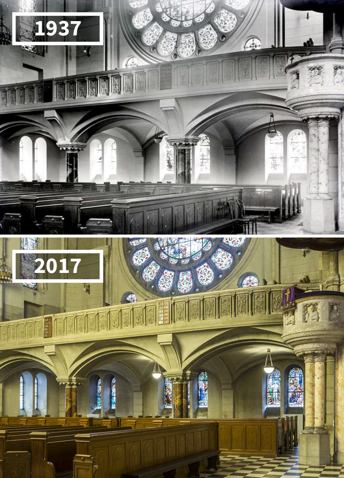 St. Matthew Evangelical Church, Łódź, Poland, 1937 - 2017