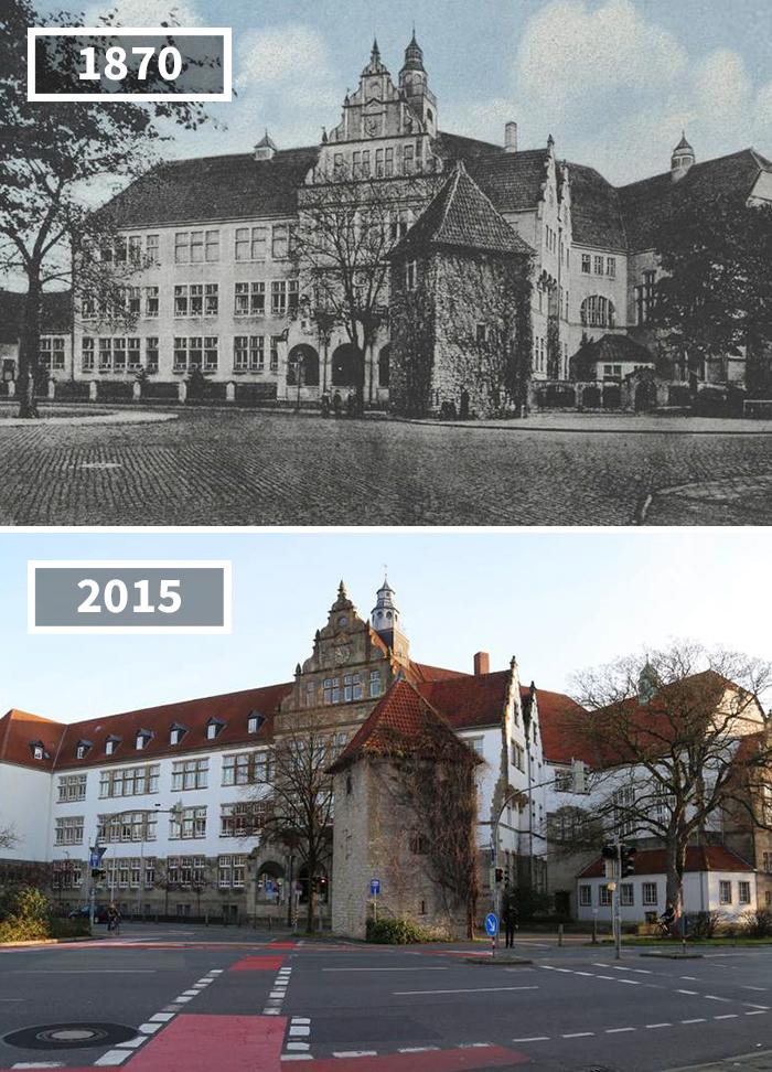 Gymnasium, Osnabrück, Germany, 1870 - 2015