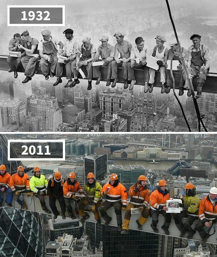 Lunch Atop A Skyscraper, New York, Usa, London, England, 1932 - 2011