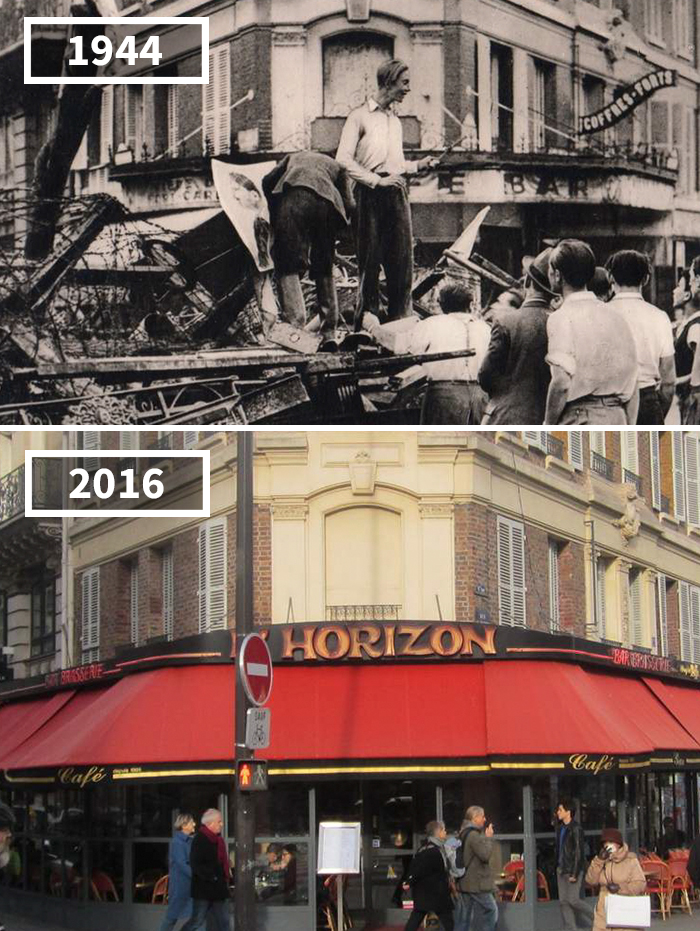 Rue St. Placide, Paris, France, 1944 - 2016