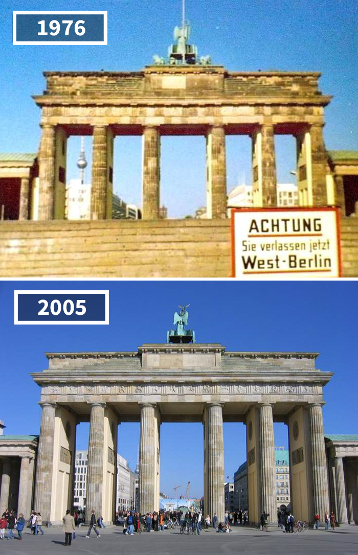 Brandenburger Tor, Berlin, Germany, 1976 - 2005