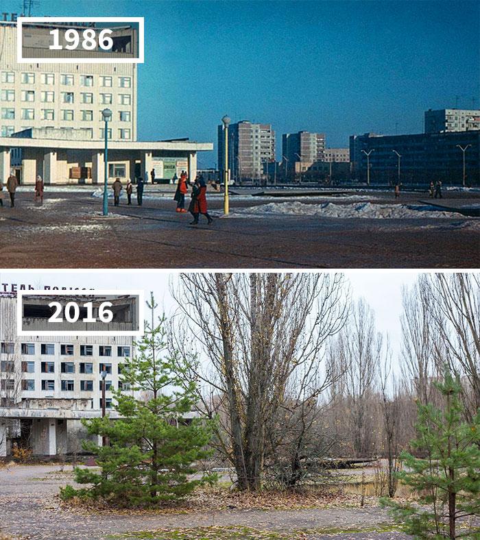 Pripyat, Ukraine, 1986 - 2016