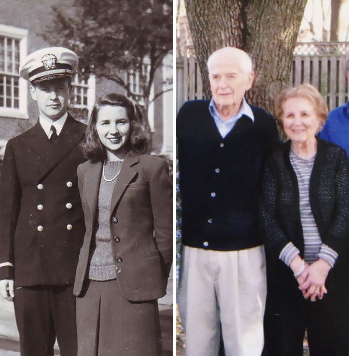 My Grandfather Passed Today, Shortly After Celebrating His 70th Wedding Anniversary. They Are The Strongest Couple I Have Ever Known