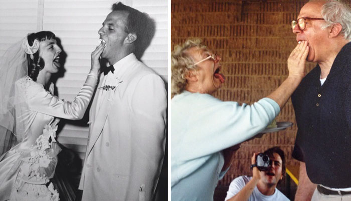 My Grandparents. Then And Now