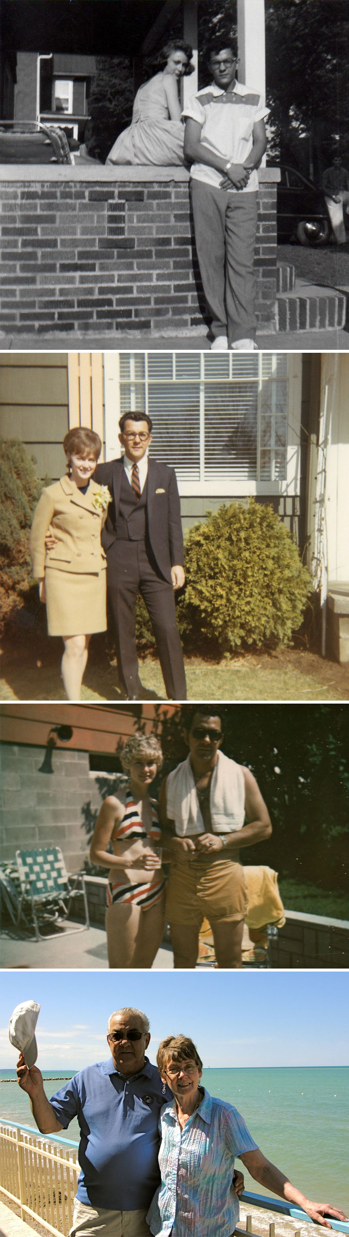 My Grandparents In The 50s, 60s, 70s, And Today
