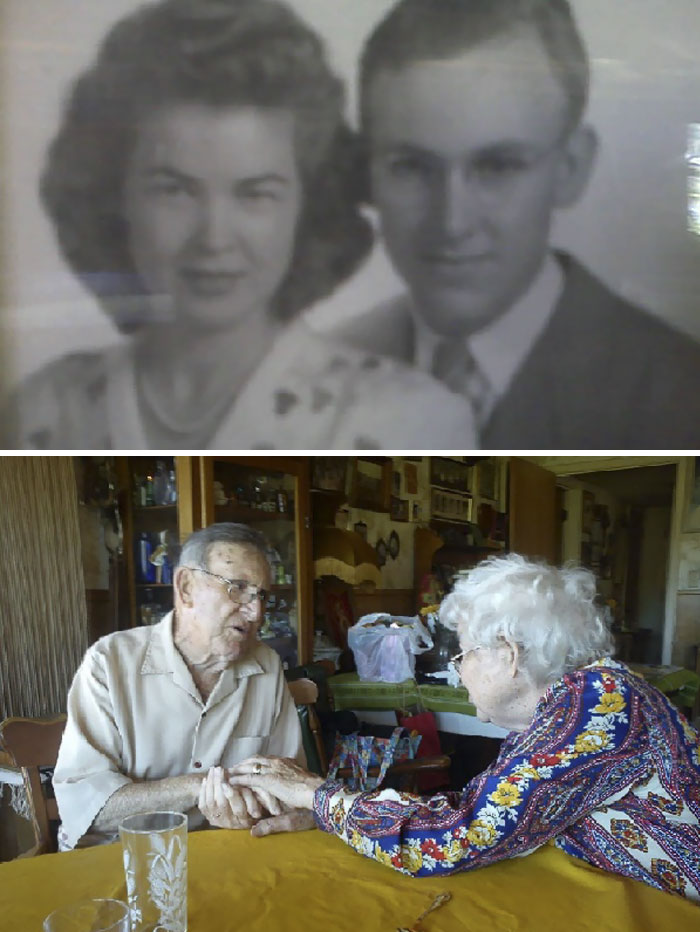 Today We Celebrated My Grandparents Wedding Anniversary. 90 Years Old, Still In Love, And Married For Over 60 Years