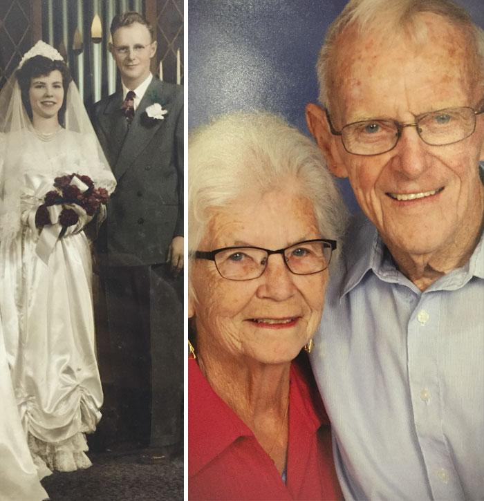 Happy 65th Wedding Anniversary To My Grandparents