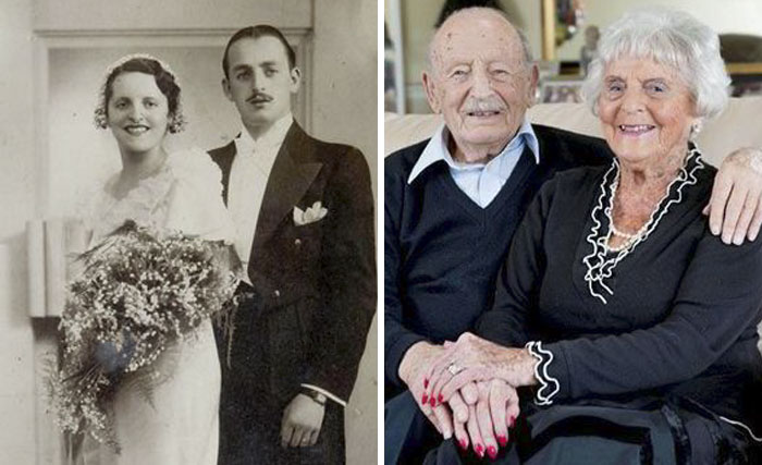 This Couple Celebrated Their Oak Anniversary - 80 Years In Marriage