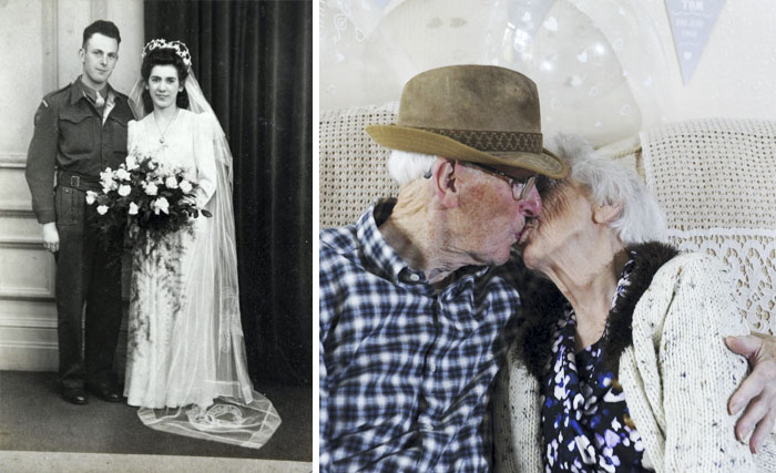 Childhood Sweethearts Thomas And Irene Howard Have Been Been Married For 70 Years