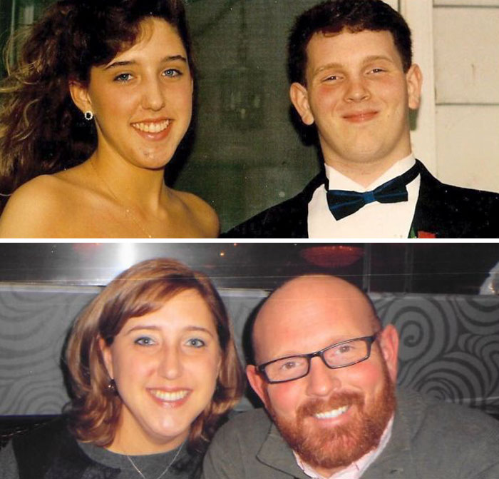 24 Years Have Flown By – Senior Prom 1991 Vs. 20th Anniversary Dinner 2015
