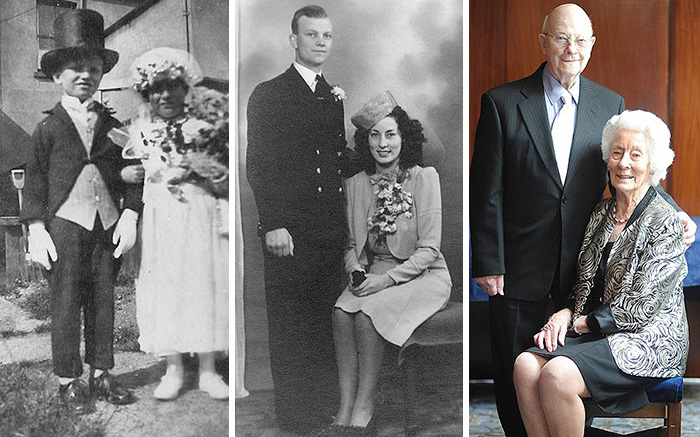 From Carnival Bride And Groom In The Gillingham Carnival In 1926, To 70 Years Of Marriage