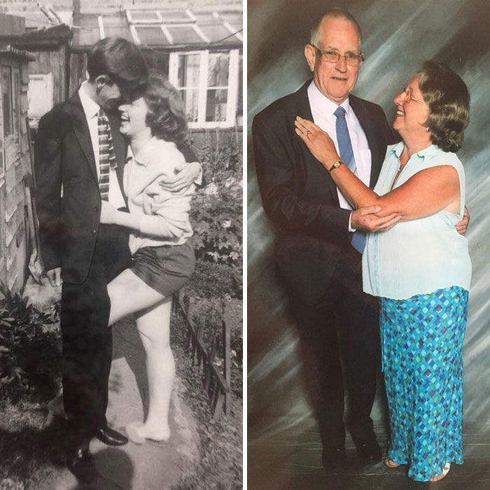 My Grandparents: 50 Years Apart, Still Absolutely Smitten With Each Other
