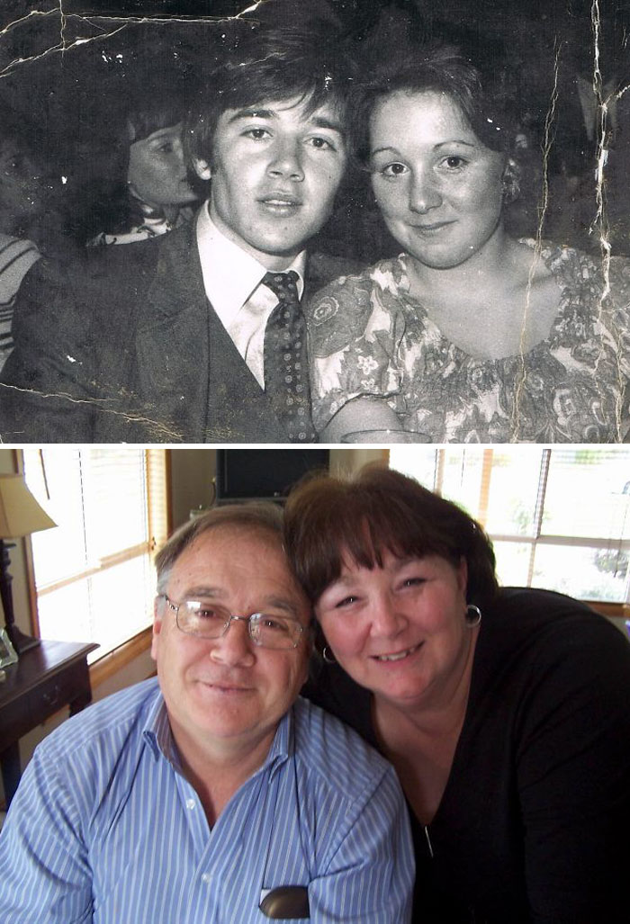 First Love 1970. 44 Years Later Still Married