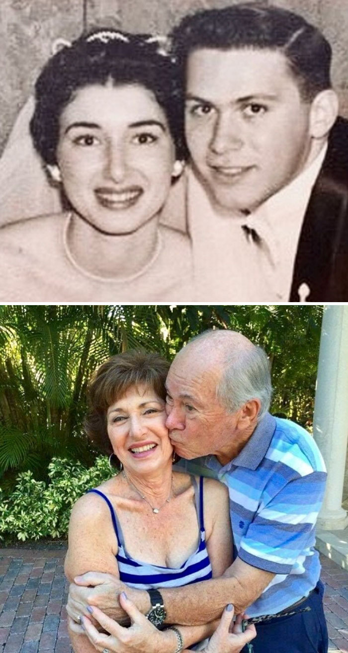 My Grandparents Met In 1952 At My Grandma's 14th Birthday Party. They Will Be Celebrating Their 60th Wedding Anniversary In June 2018