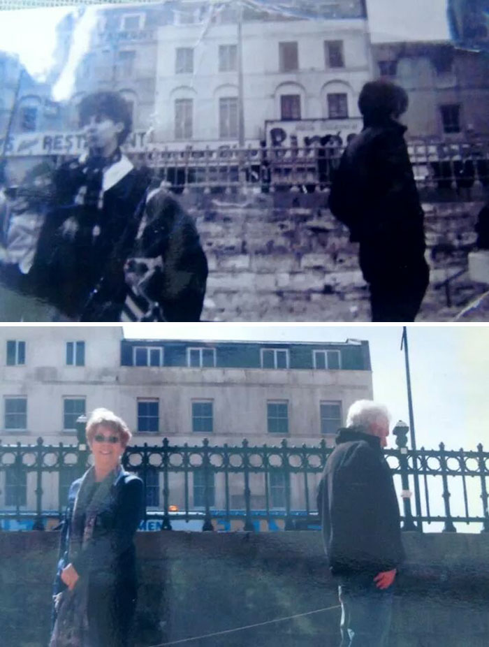 The First Day My Grandparents Met On The 15th April 1963, And Their 50th Anniversary, 15th April 2013, Margate