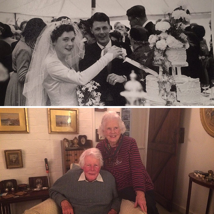 I Struggle To Maintain A Relationship For 66 Days, But Here Are My Grandparents 66 Years Apart To The Day. Happy Anniversary Granny And Grandpa
