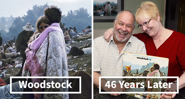 50+ Amazing Then & Now Couple Photos That Will Make Everyone Believe In Everlasting Love